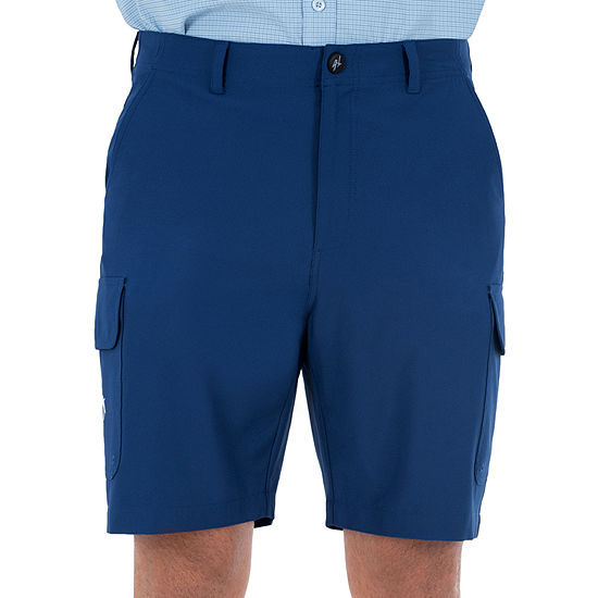 Guy Harvey Mens Stretch Moisture Wicking Cargo Short