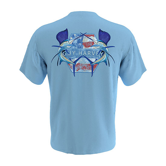 Guy Harvey Mens Crew Neck Short Sleeve T-Shirt