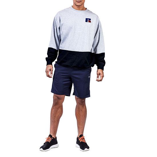 Russell Athletics Big and Tall Mens Crew Neck Long Sleeve Sweatshirt