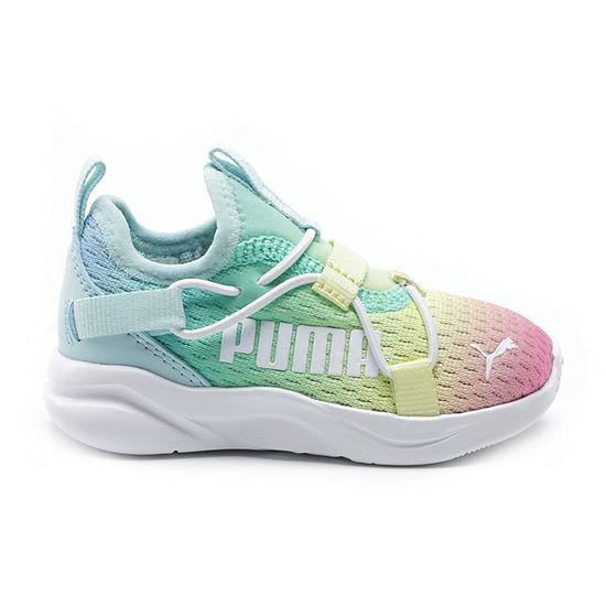 Puma Softride Little Kids Girls Running Shoes