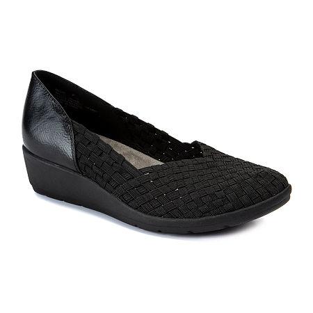 Wearever Shoes Womens Machelle Slip-On Shoe, 9 Medium, Black