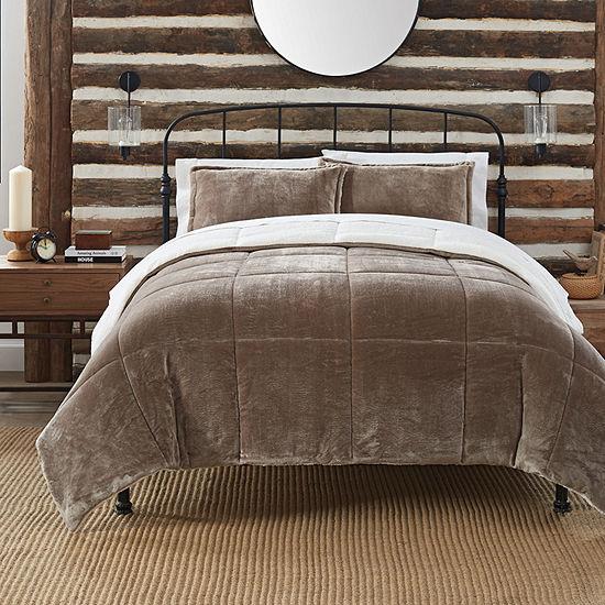 Serta Comfy Plush™ Midweight Comforter Set