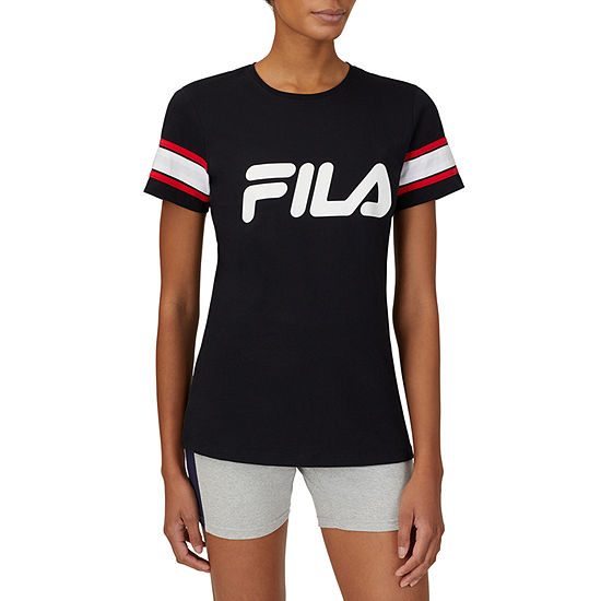 Fila Spirited Womens Crew Neck Short Sleeve T-Shirt