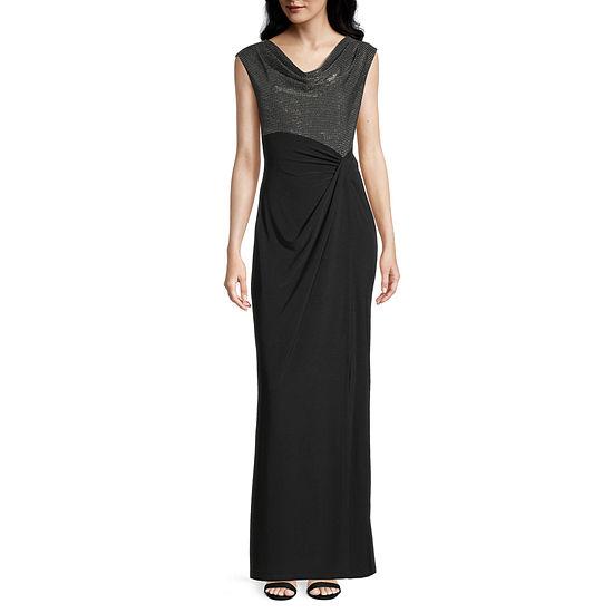 Scarlett Short Sleeve Evening Gown