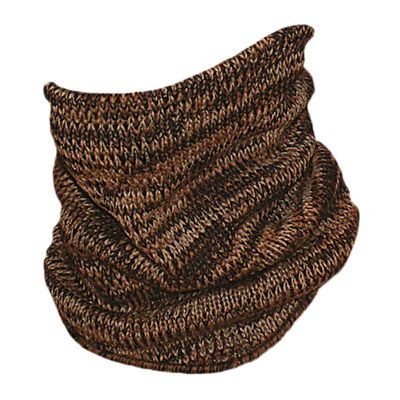 QuietWear® Knit Brown Camo Neck Gaiter