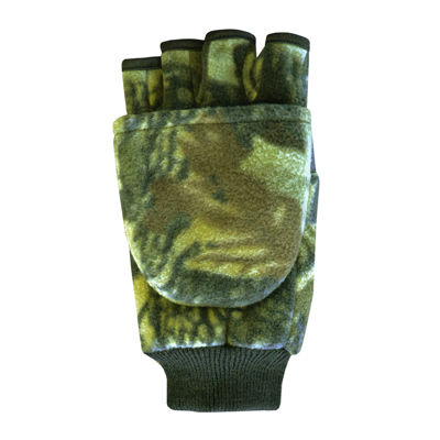 QuietWear® Insulated Fleece Flip-Top Gloves