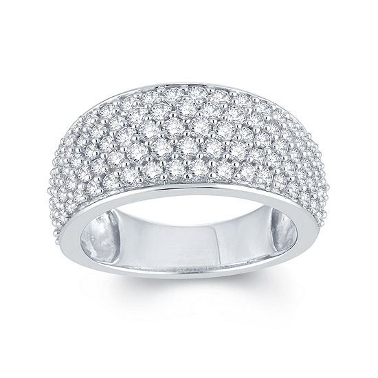 Limited Quantities 2 Ct Tw Diamond 14k White Gold Anniversary Ring