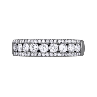 1 CT. T.W. Diamond 14K White Gold Band