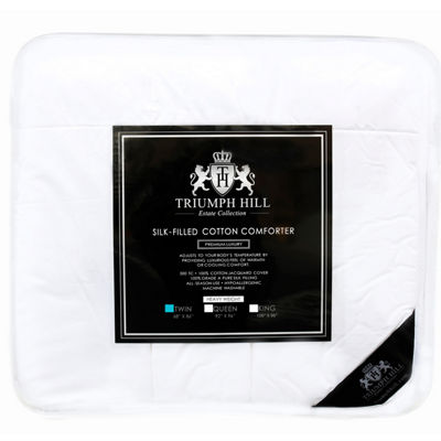 Triumph Hill Heavyweight Silk Comforter