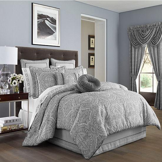 Queen Street Caprice 4-pc. Heavyweight Comforter Set