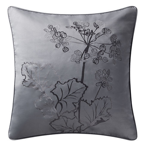 Marquis By Waterford Lauren Jacquard Euro Pillow