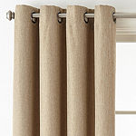 JCPenney Home Pasadena Blackout Grommet-Top Curtain Panel