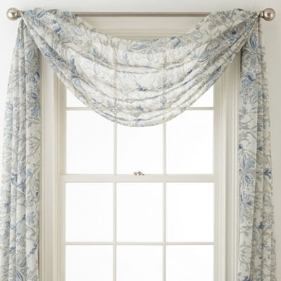 Royal Velvet Cholet Scarf Valance