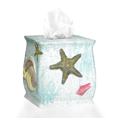 Popular Bath Atlantic Tissue Box Cover