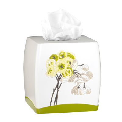 Popular Bath Canteen Flower Tissue Box Cover