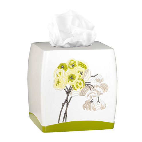 Popular Bath Canteen Flower Tissue Box Cover