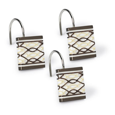 Popular Bath Harmony Shower Curtain Hooks