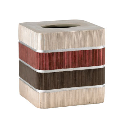Popular Bath Modern Line Tissue Box Cover