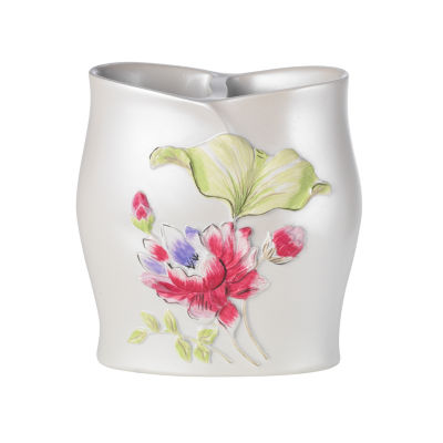 Popular Bath Flower Haven Toothbrush Holder