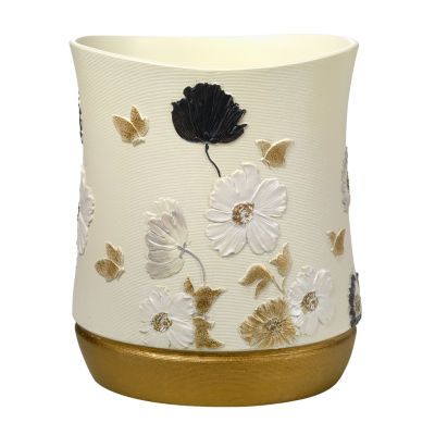 Popular Bath Dahlia Waste Basket