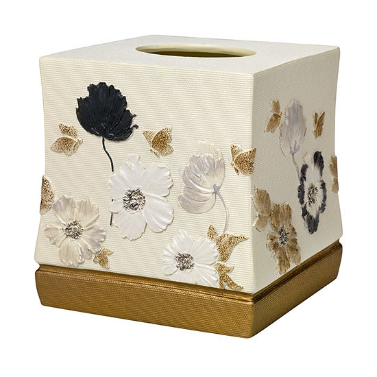 Popular Bath Dahlia Tissue Box Cover