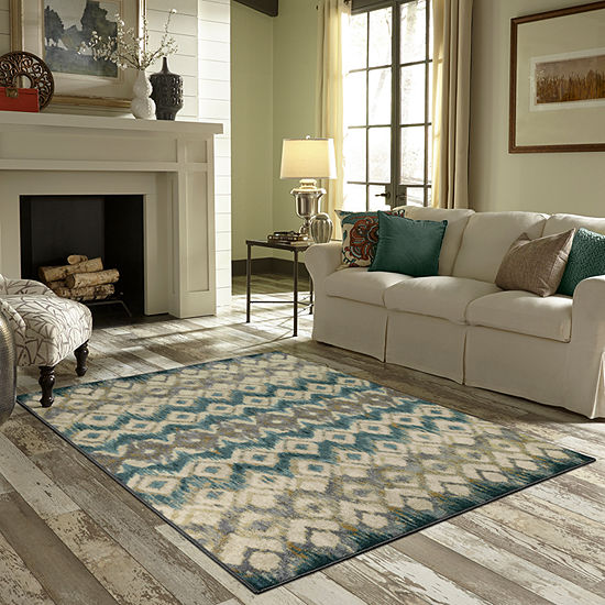 JCPenney Home Avery Printed Rectangular Indoor Rugs