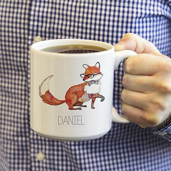 Cathy's Concepts Fox 2-pc. Coffee Mug
