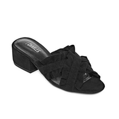 Style Charles Vinny Womens Slide Sandals