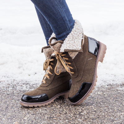 Muk Luks Jandon Womens Water Resistant Winter Boots