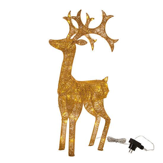 Glitzhome Led Standing Reindeer