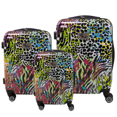Chariot Travelware Color 3 PC Hardside Luggage Set