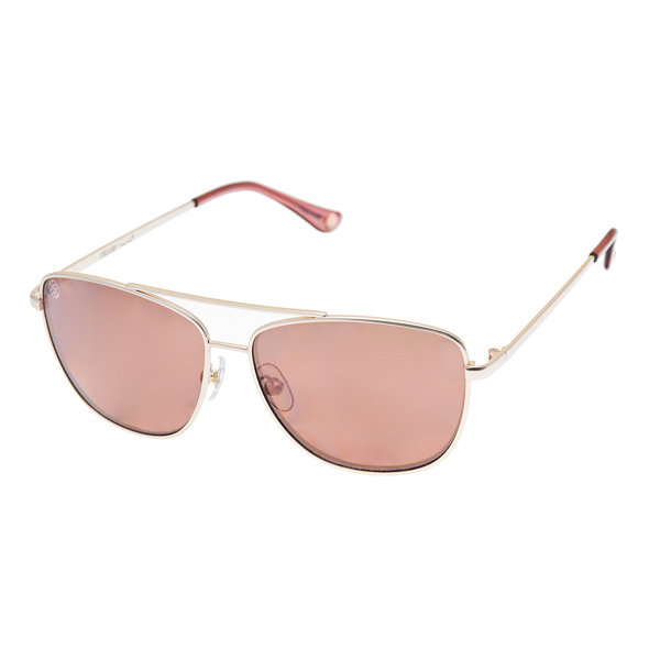 Nicole By Nicole Miller Rimless Square UV Protection Sunglasses-Womens