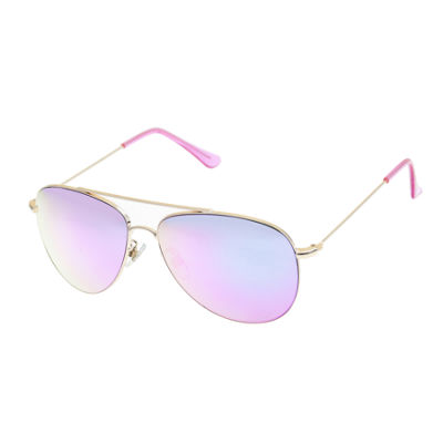 Arizona Full Frame Aviator UV Protection Sunglasses-Womens