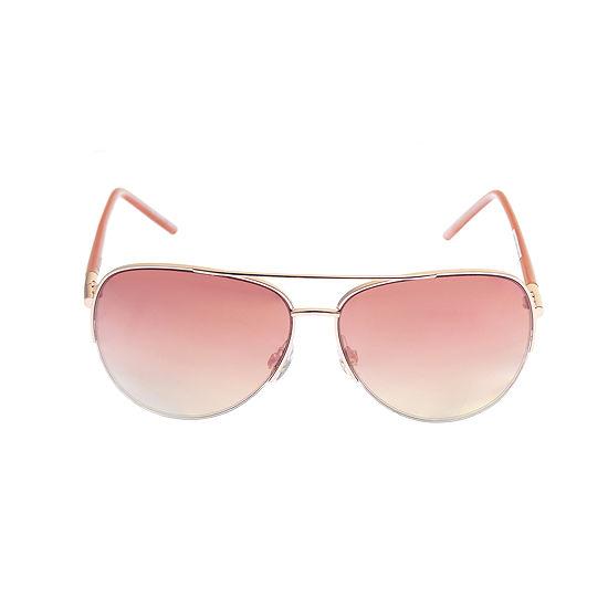Arizona Womens Full Frame Aviator UV Protection Sunglasses