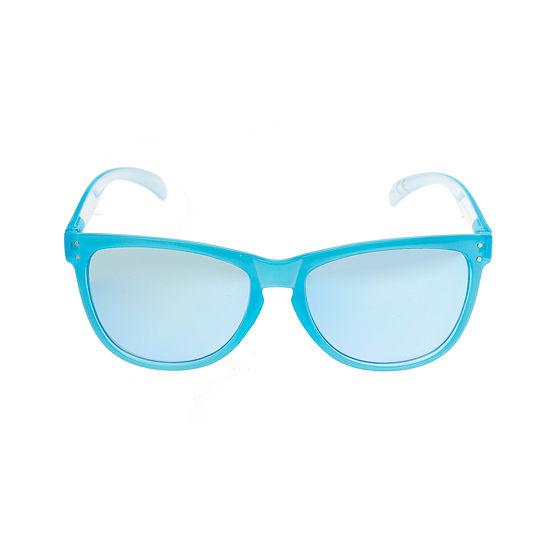 Arizona Womens Full Frame Rectangular UV Protection Sunglasses