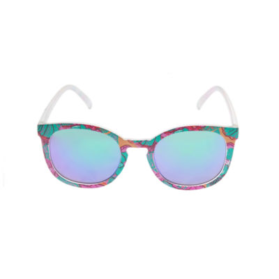 Arizona Womens Full Frame Round UV Protection Sunglasses