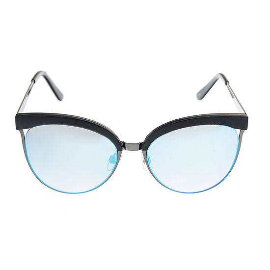 Arizona Womens Full Frame Round UV Protection Sunglasses