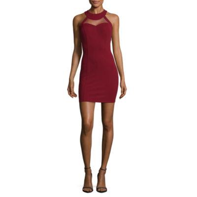 Speechless Sleeveless Bodycon Dress-Juniors