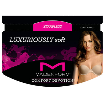 Maidenform Comfort Devotion Multiway Underwire Demi Strapless Bra-09405