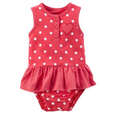 Carter's Sunsuit Bodysuit - Baby Girls