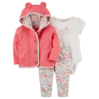Carter's 3-pc. Legging Set-Baby Girls