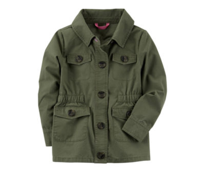 Carter's Girls Midweight Field Jacket-Toddler