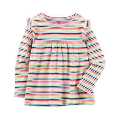 Carter's Long Sleeve Babydoll Top - Toddler Girls