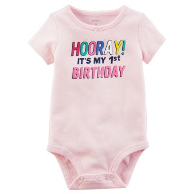 Carter's 1st Birthday Bodysuit - Baby Girl