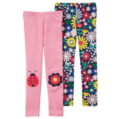 Carter's Floral Knit Leggings - Toddler Girls