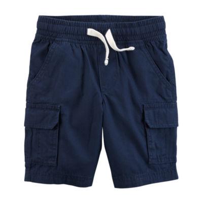 Carter's Straight Fit Woven Cargo Shorts - Preschool Boys