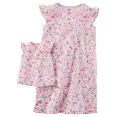 Carter's Short Sleeve Nightgown-Preschool Girls