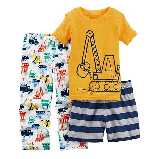Carter's 3-pc. Pajama Set Baby Boys