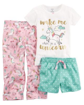 Carter's 3 Piece Pajama Set - Baby Girls 12M-24M
