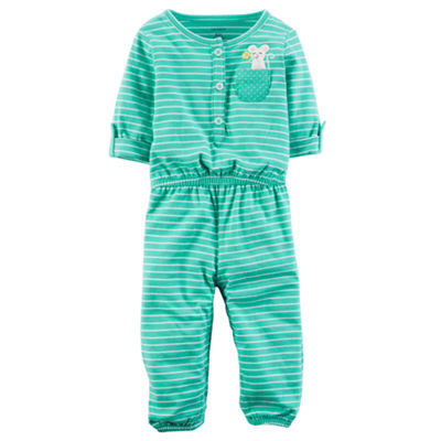 Carter's Short Sleeve Jumpsuit - Baby